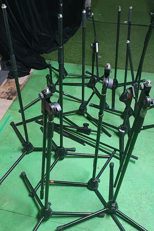 8 x K&M Boom Microphone Stands - For Parts