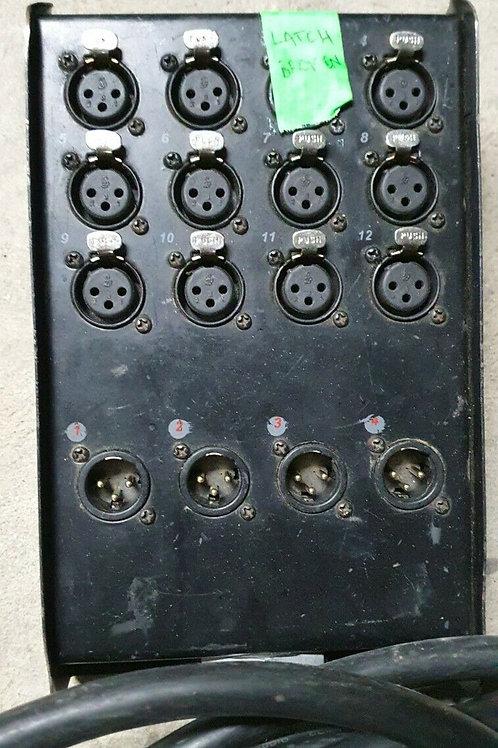 30m 16 Way Stage Box Drop Box Multicore