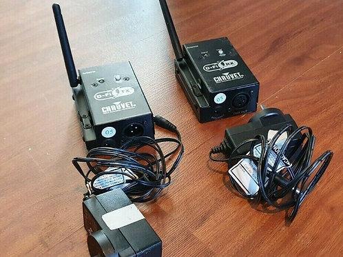 Chauvet D-Fi Wireless DMX System - 1 x Tx and 1 x Rx