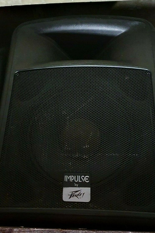 Pair of Peavey Impulse 1012 12 Inch and Horn Speakers