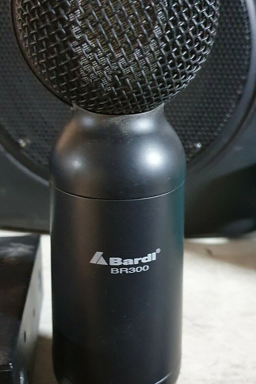 Bardi BR300 Condenser Mic with Dual Phantom Power Supply