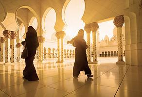 Mosquée ensoleillé