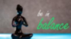 Be in balance - Yoga woman figurine life