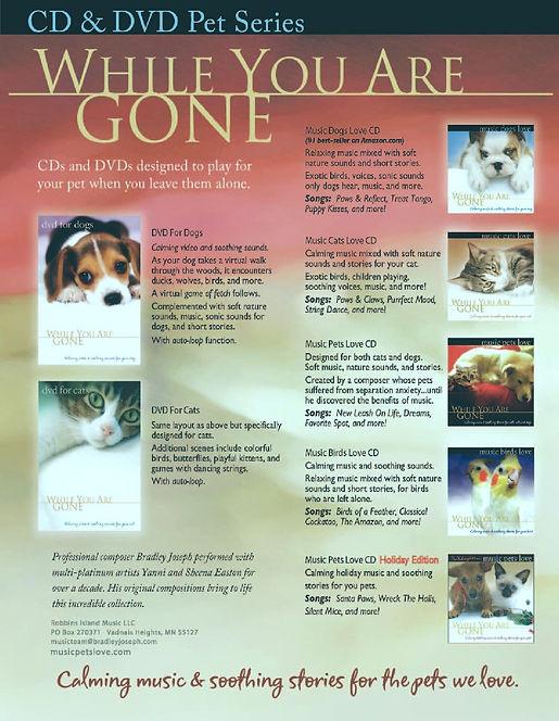 Calming Healing Music For Pets
