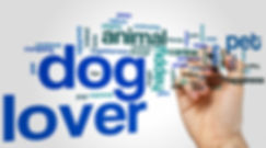 Dog lover concept word cloud background.