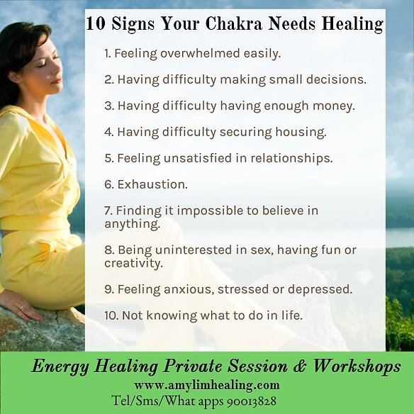 Chakra and Energy Healing in Singapore