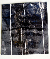 Ruminations 7 Mixed media on paper 2001-2020