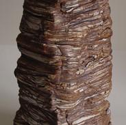 """Monument (Side) Ceramic 18"""" x 9"""" x 8"""" 2004"""