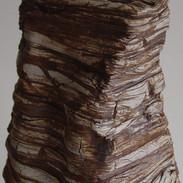 """Monument (Detail) Ceramic 18"""" x 9"""" x 8"""" 2004"""