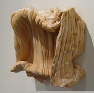 """Inhale (Relief) Ceramic 12"""" x 14"""" 2005"""