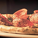 Pizzas.