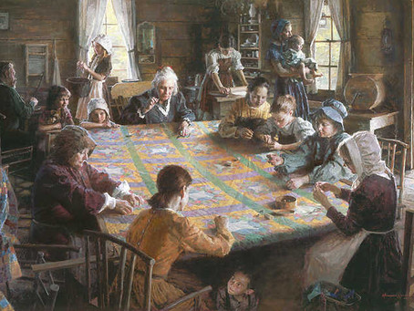 Quilting: A Frontier Social Event