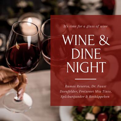 Wine & Dine Night