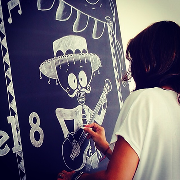 Let's Chalk Event Decor by Roberta Barros