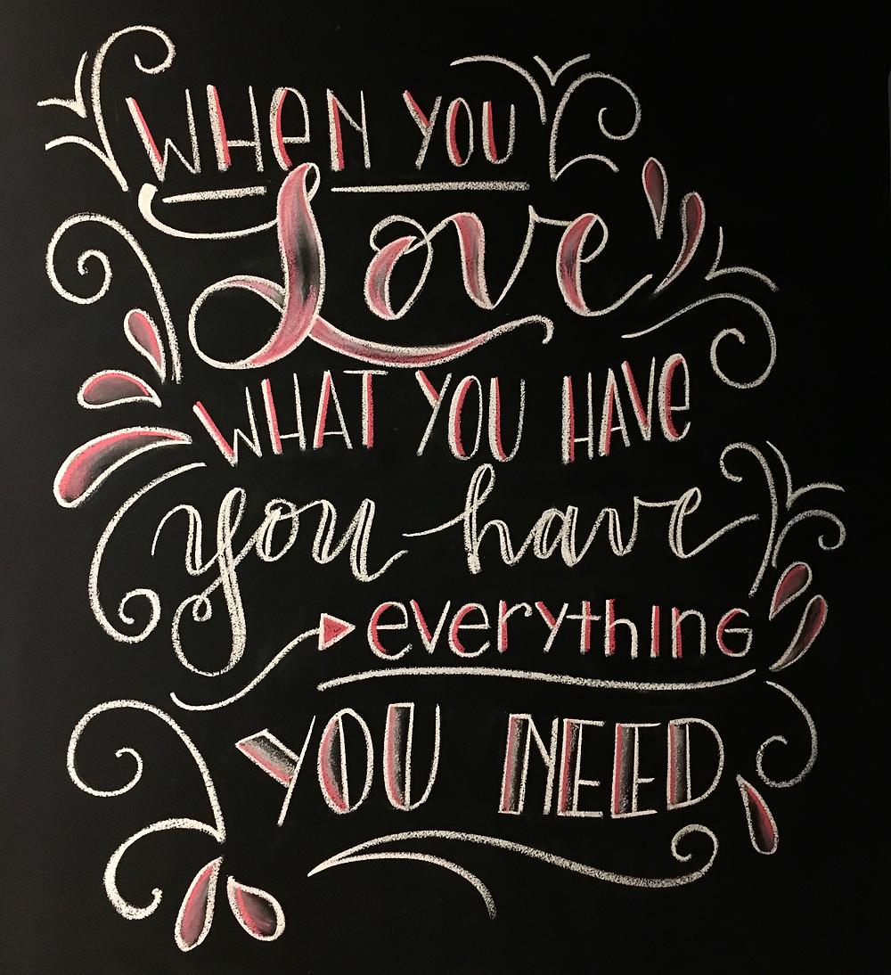 Let's Chalk ... Valentine's Day