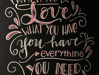 Let's Chalk about.... Valentine's Day❤