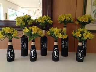 Chalkboard Bottles Tutorial in 7 Steps