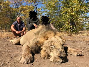 2019 LION HUNTING - SHAUN BUFFEE SAFARIS