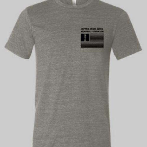 Military Green Unisex Triblend Short Sleeve Tee Shirt