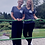 Thumbnail: Navy Women's Relaxed Short Sleeve Jersey V-Neck Tee