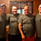 Thumbnail: Military Green Unisex Triblend Short Sleeve Tee Shirt