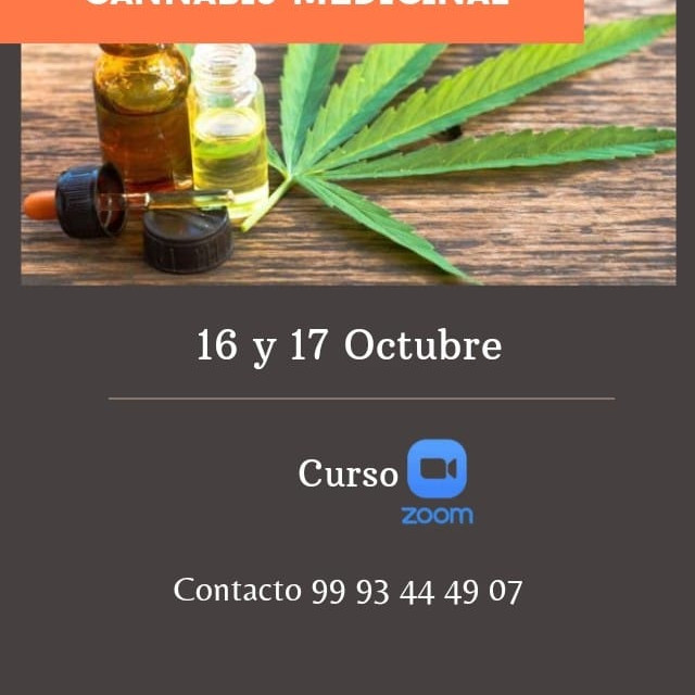 Curso Cannabis Medicinal. En linea