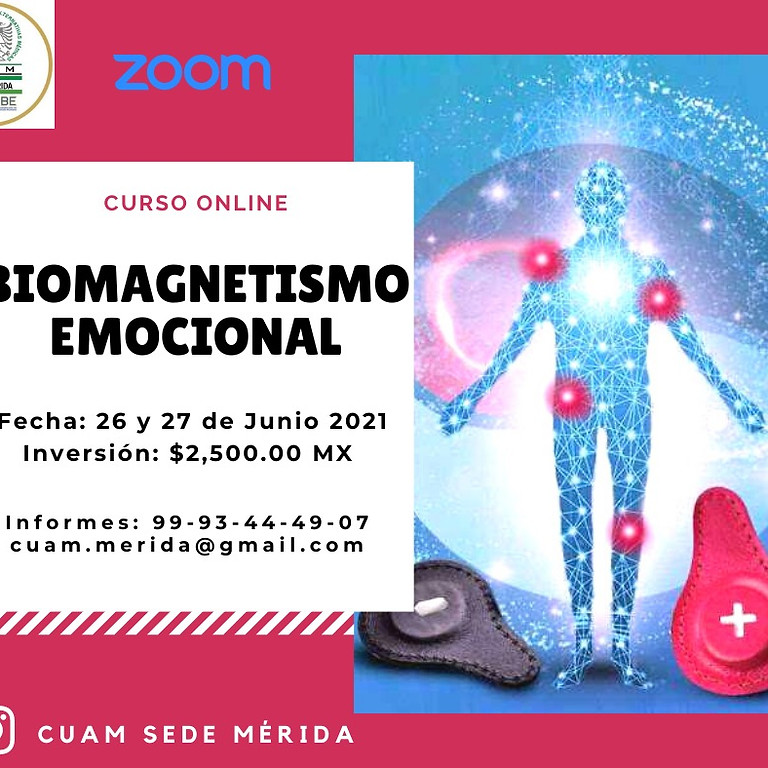 Curso Biomagnetismo Emocional (En Linea)