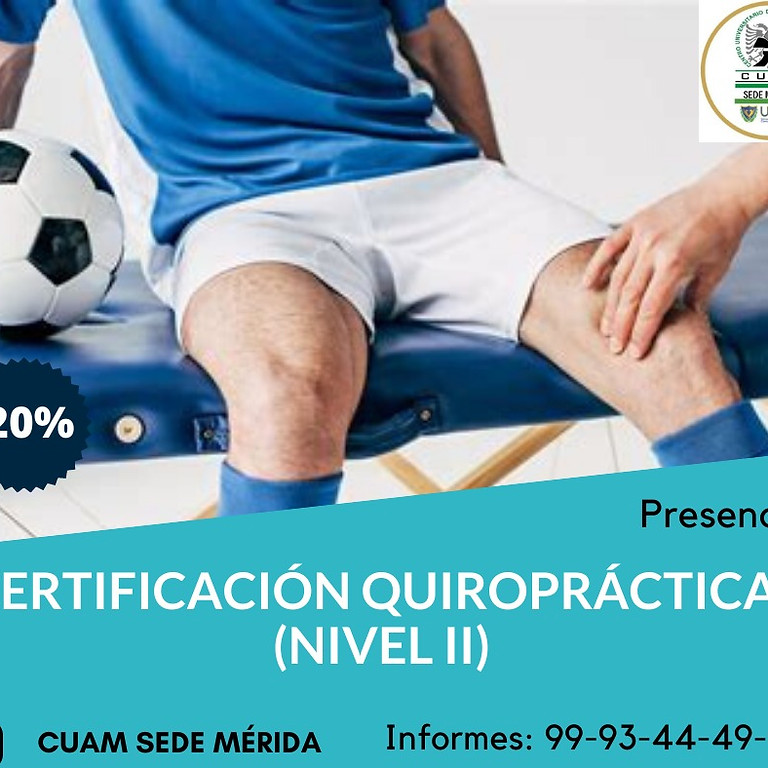 Certifiacación Quiropratica II