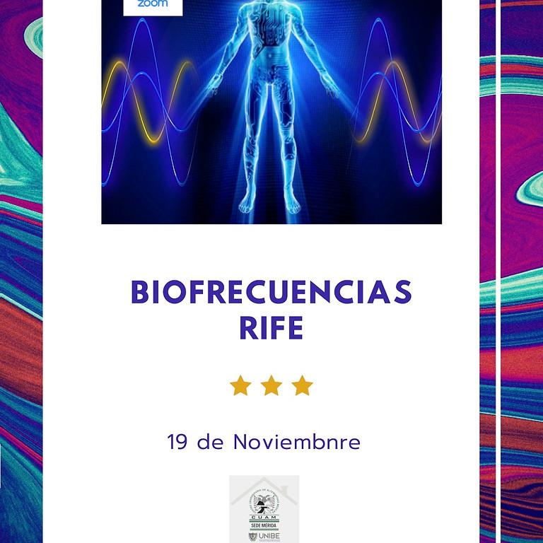 Taller Biofrecuencias Rife