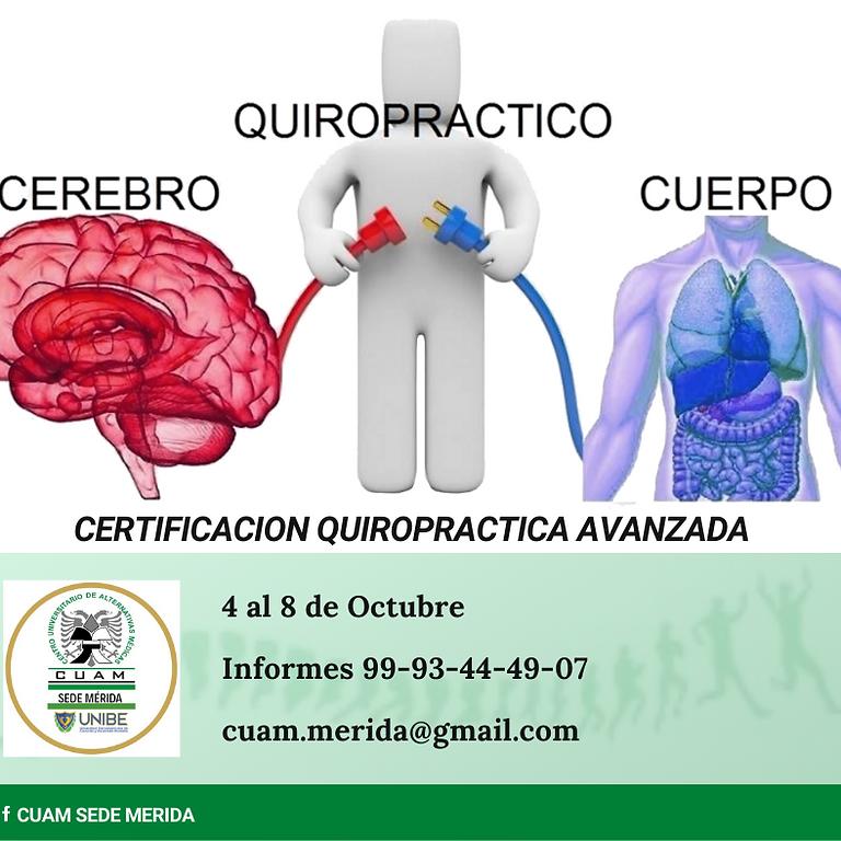 Certificacion Quiropractica Nivel II (Avanzada)