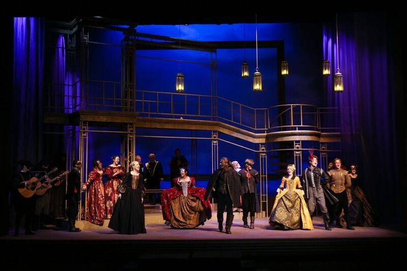 Romeo and Juliet at Trinity Shakespeare Festival