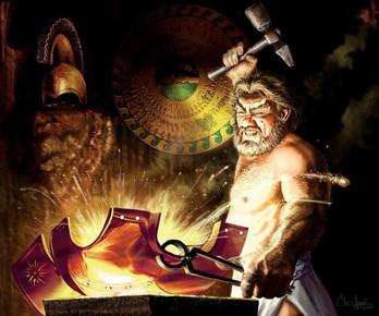 O Deus Vulcano: o forjador das formas