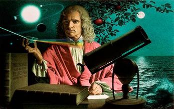 Newton e a descoberta do Mistério das cores durante uma quarentena