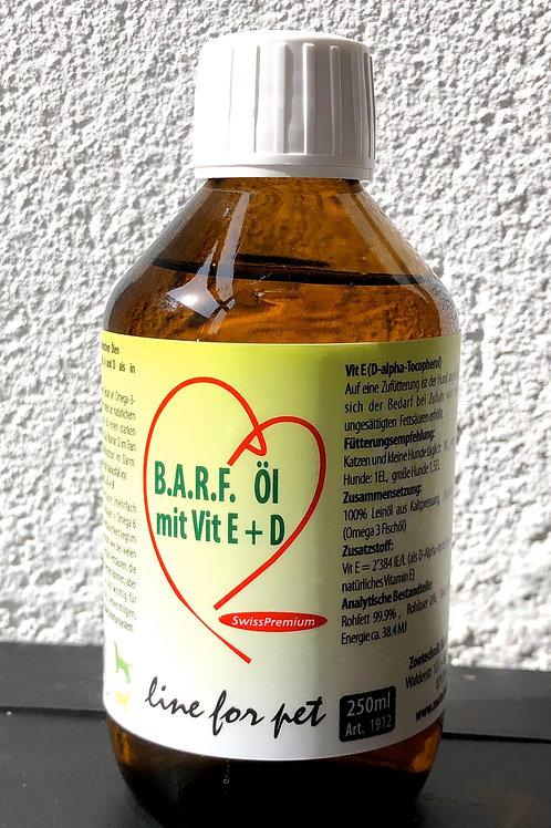 Olio con vitamina E+D - 250 ml.