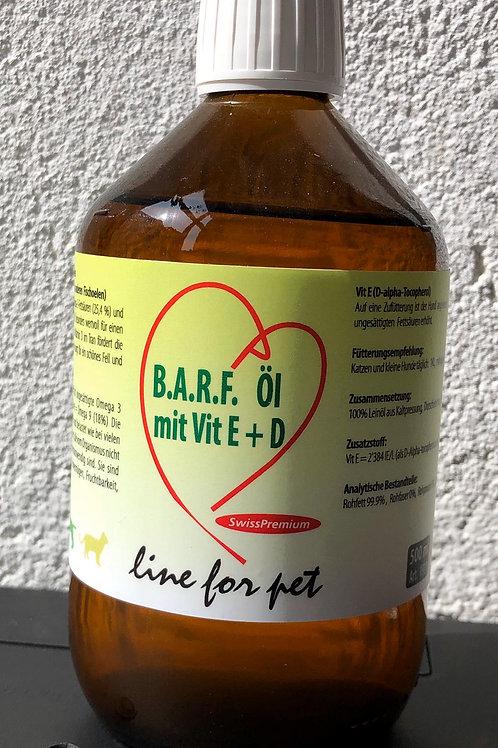 Olio con vitamina E+D - 500 ml.