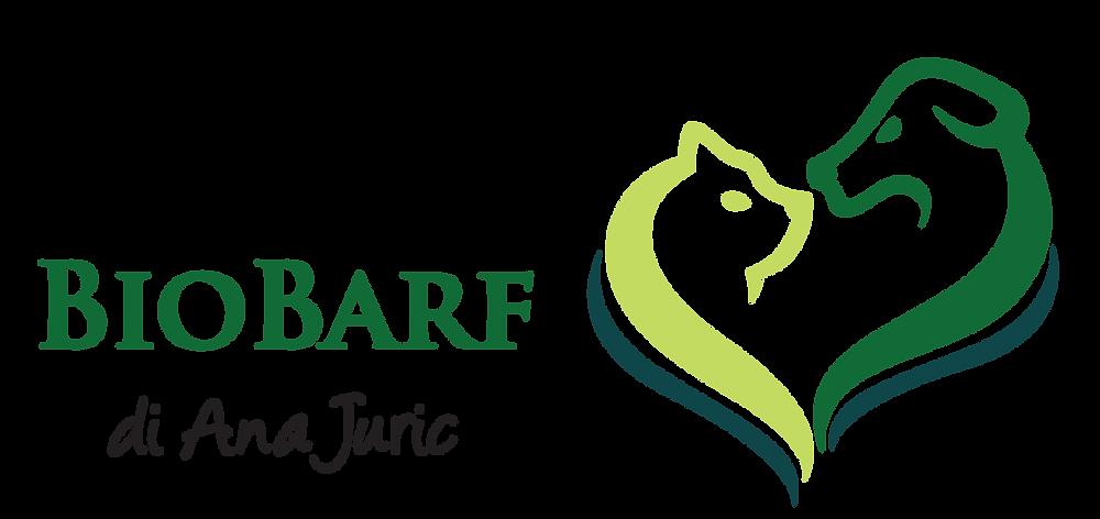 Logo di Bio Barf che è un negozio cibo animali ticino