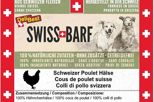 Pollo colli interi