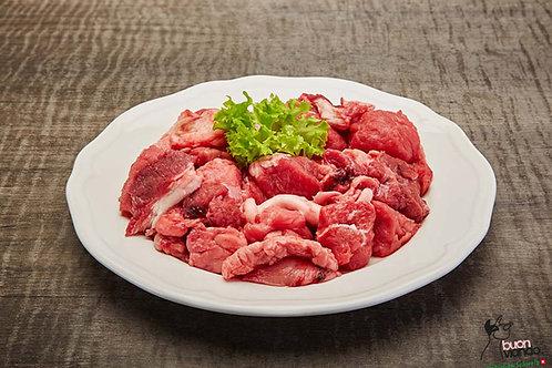 Manzo pezzettini di carne
