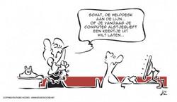 Cartoonreeks OGD Kalender