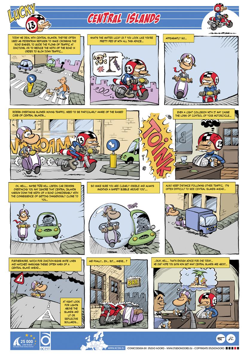 Veiligheidscampagne Lucky 13