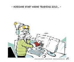 Maandelijkse cartoon SVB