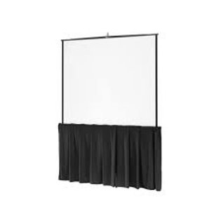 8' Tripod Video Screen with Skirt
