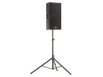 """12"""" QSC Powered Speaker with Stand"""