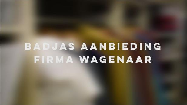 Badjas aanbieding Firma Wagenaar