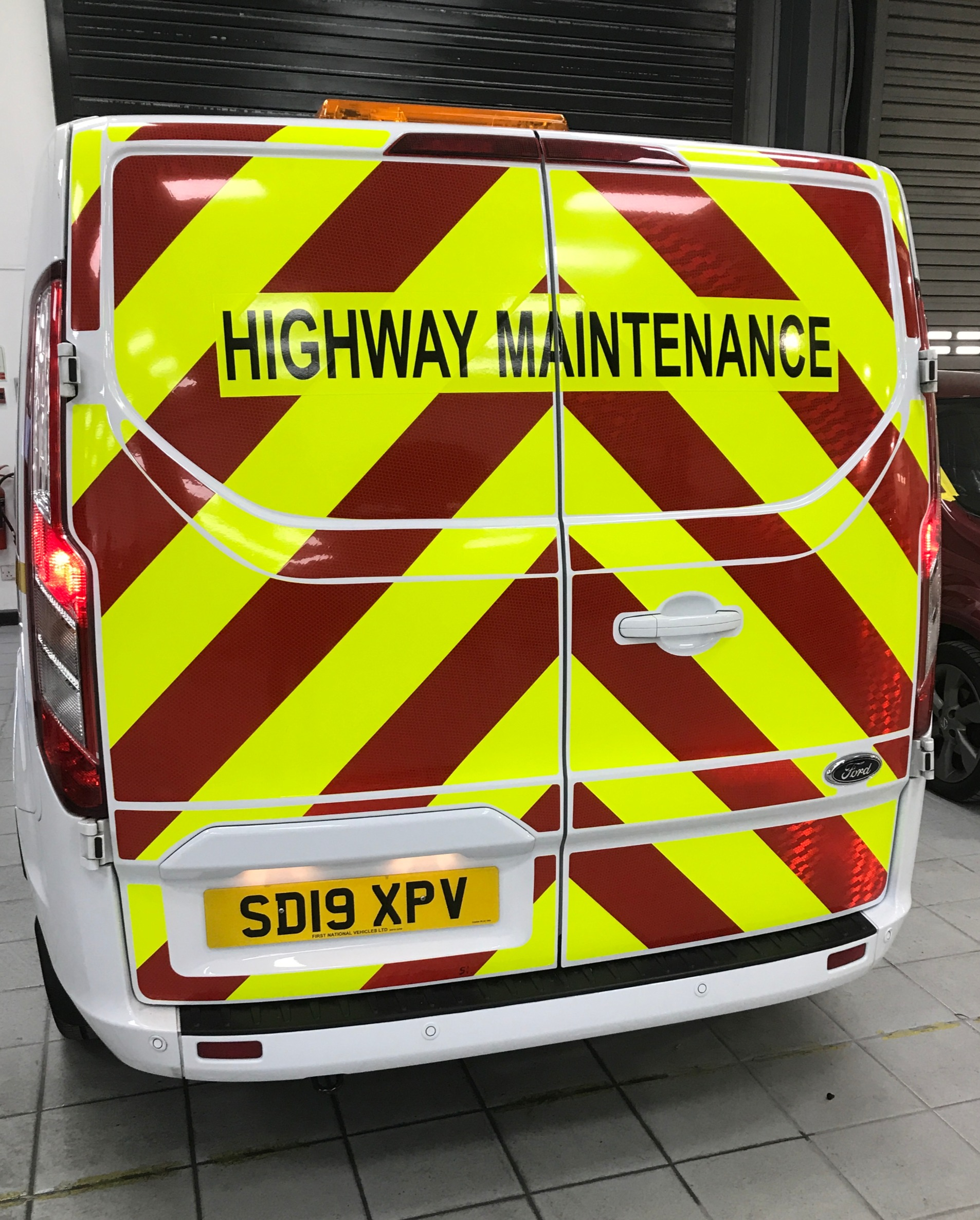Van reflective graphics Walsall