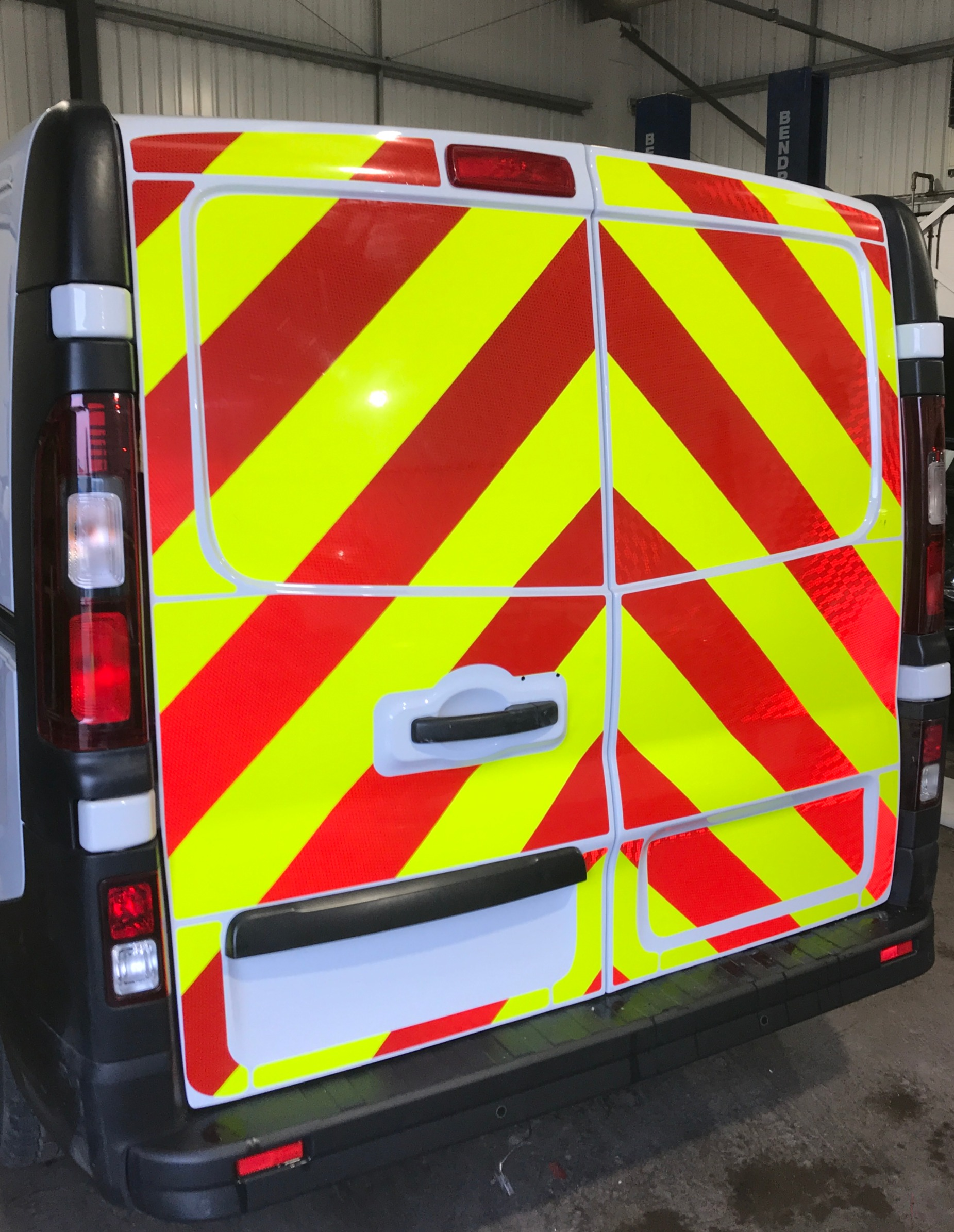 van graphics West Bromwich reflective graphics