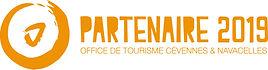Logo de patenariat avec l'office de tourisme Cévènnes et Navacelles