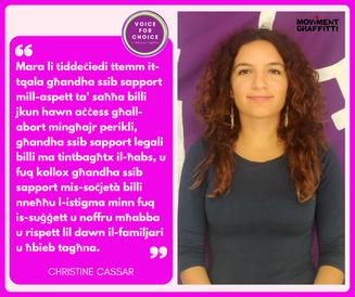 Christine Cassar