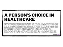 Choice in Healthcare