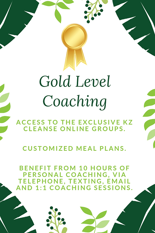Gold Level Coaching